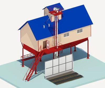 Строительство  зерноочистительно-сушильных комплексов КЗС - main