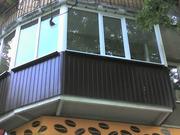 Профнастил стеновой для обшивки балкона,  веранды,  сарая и прочее - foto 1