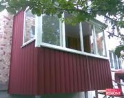 Профнастил стеновой для обшивки балкона,  веранды,  сарая и прочее - foto 2